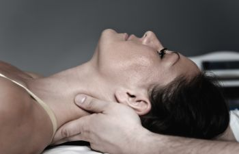 Woman Receiving Massage Therapy Atlanta GA